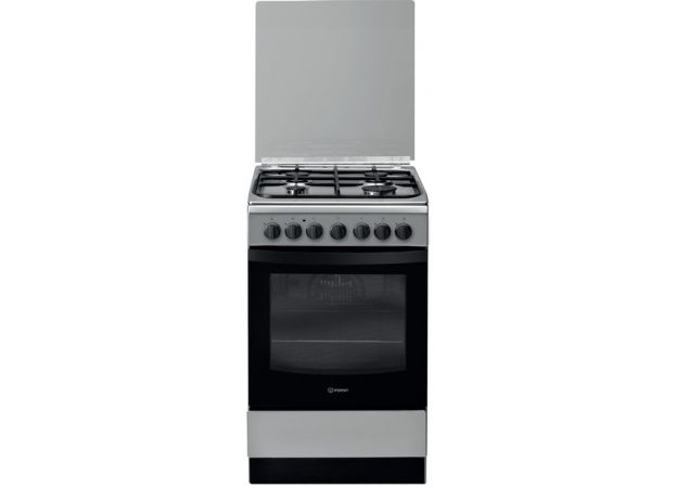 Gas Hob/Oven Indesit IS5G5PHX/E